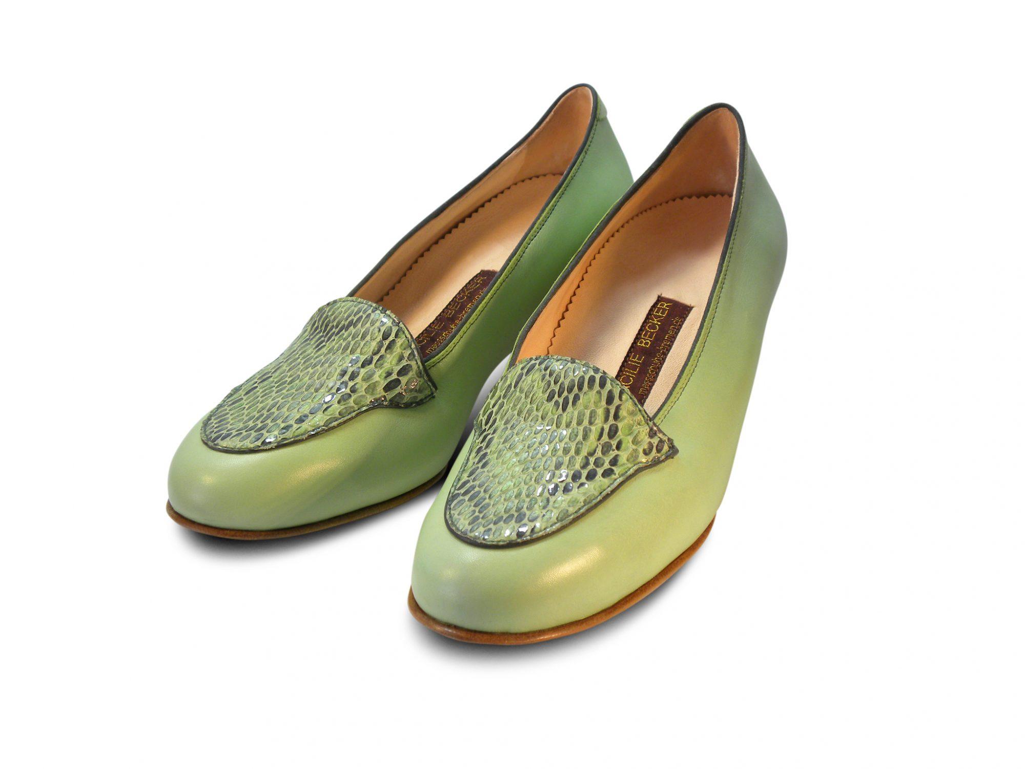 eleganter Slipper mit Fußbett