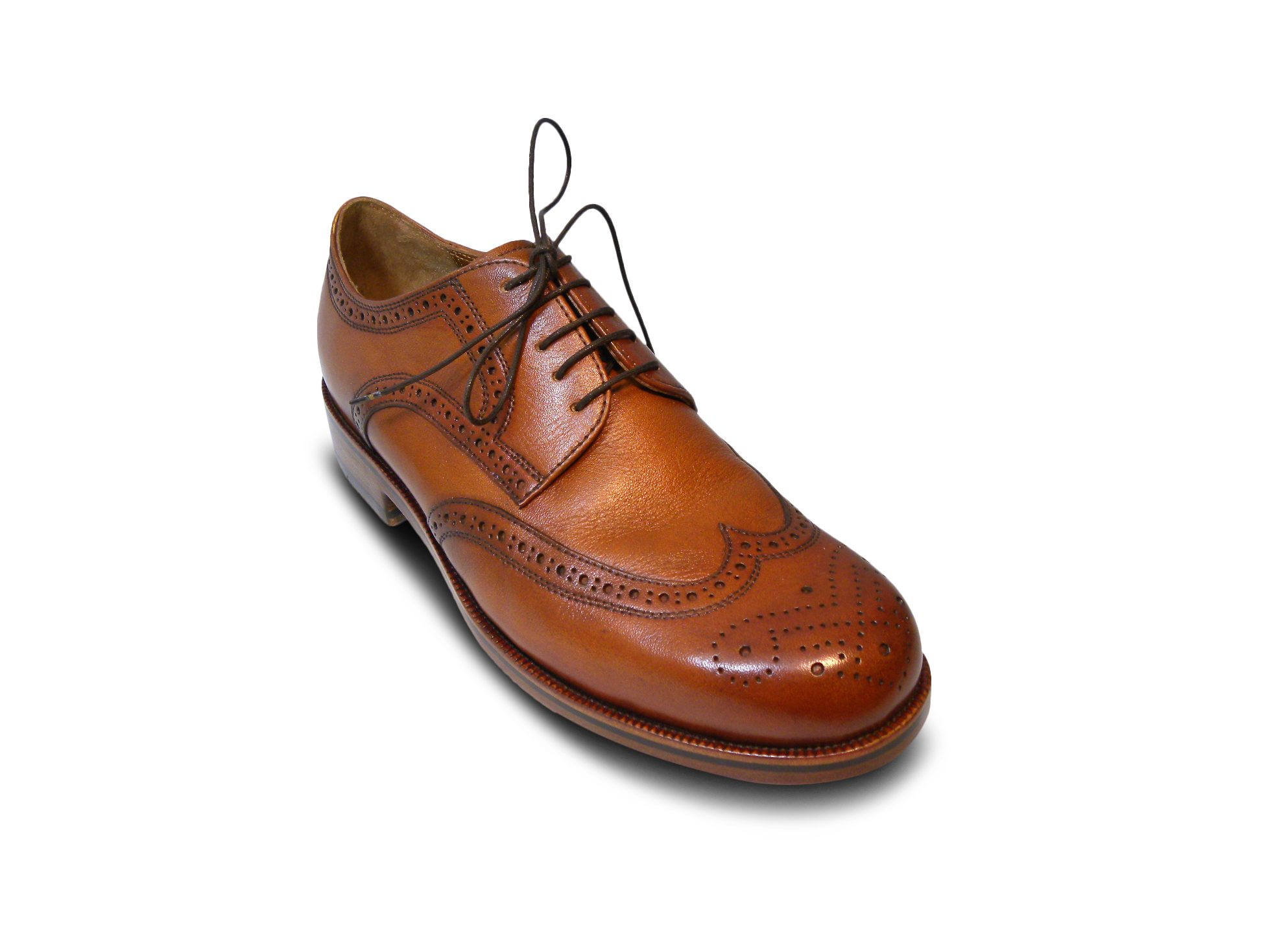 Herrenmaßschuh Derby Fullbrogue