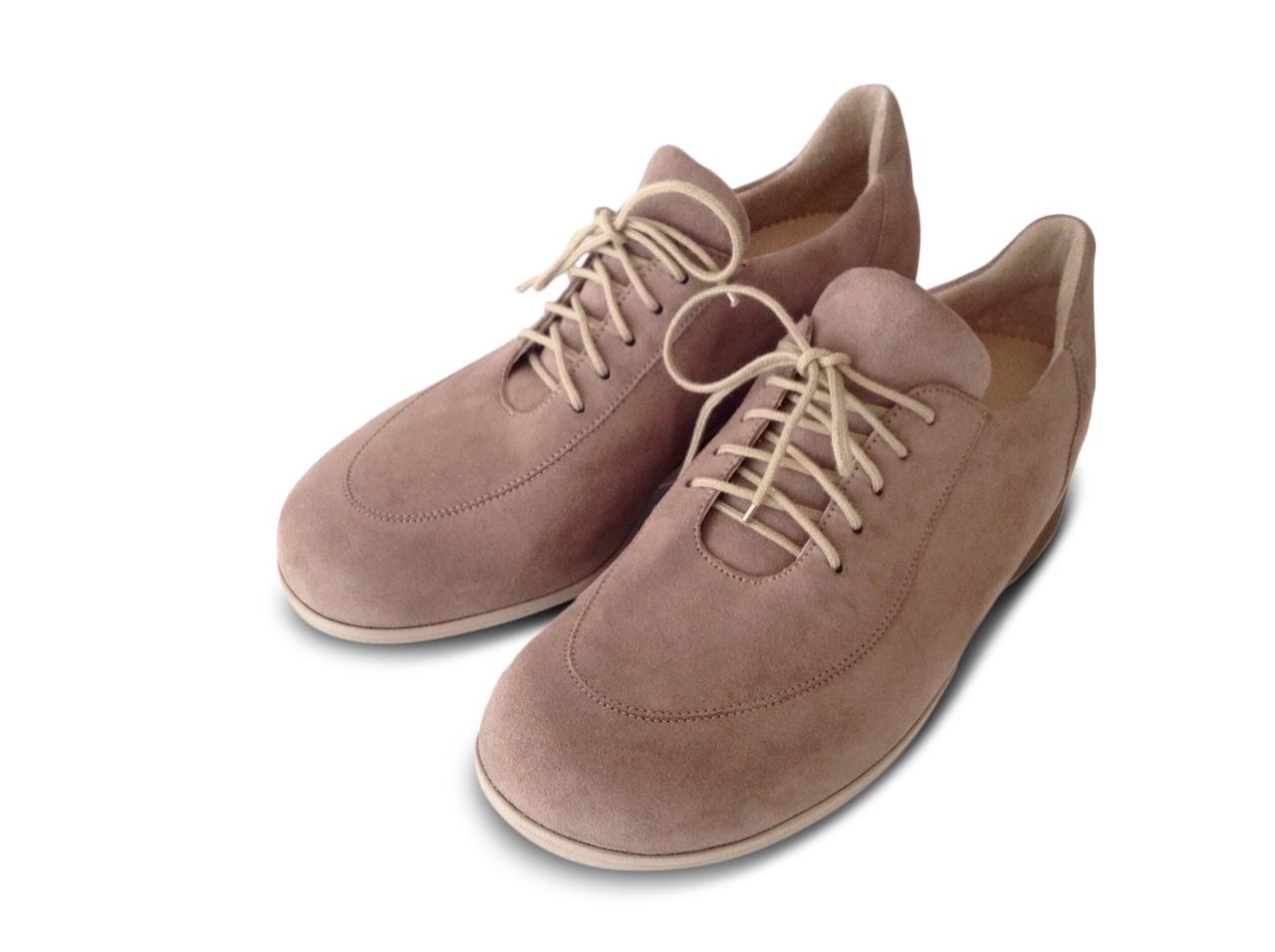 Sneaker mit Fußbett, Veloursleder